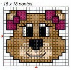 Ponto Cruz e Mais: Ursinhos!!