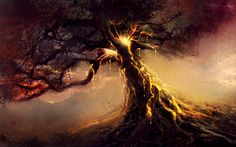 fantasy illustration landscape - Pesquisa Google