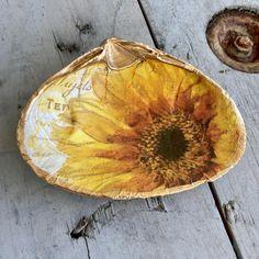 Seashell Painting, Seashell Art, Seashell Crafts, Beach Crafts, Oyster Shell Crafts, Oyster Shells, Sea Shells, Beach Wood, Beach Art
