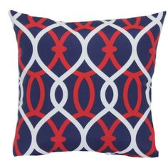 SONOMA outdoors Americana Trellis Outdoor Throw Pillow () (20 CAD) ❤ liked on Polyvore featuring home, outdoors, outdoor decor, outdoor accent pillows, outdoor toss pillows, outdoor pillows, outdoor throw pillows and outside garden decor