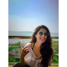 Waking up to this beautiful view in Goa was everything! White beddings, beautiful vintage furniture & functional kitchen almost made it… Girl Photo Poses, Girl Photos, Fashion Couple, Girls Dpz, Celebs, Celebrities, Girl Photography, Supermodels, Photoshoot