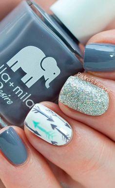 20 diseños que te harán perderle el miedo al nail art