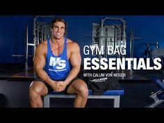 Muscle & Strength: 12 Gym Bag Essentials with Calum Von Moger