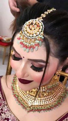 Best Wedding Dance, Wedding Dance Video, Indian Wedding Video, Indian Bridal Outfits, Indian Bridal Fashion, Indian Fashion Dresses, Bridal Makeup Videos, Best Bridal Makeup, Bridal Looks