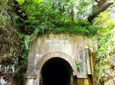 Great Bend Tunnel, the tunnel of John Henry legend. Talcott, WV