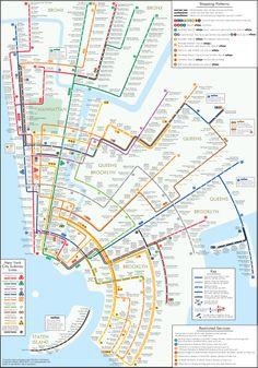 """newyork_circles.jpg (1654×2362) Der Psychologe Maxwell Roberts erstellt """"curvy maps"""" – runde S- und U-Bahnnetze von Großstädten"""