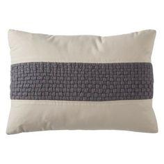 """Threshold™ Oblong Waffle Toss Pillow (13x19"""")"""