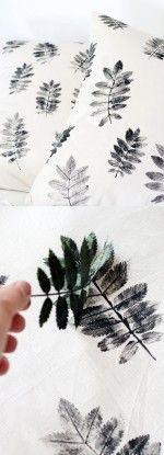 decorar con hojas secas 2