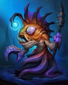 Corrupted Seer Hearthstone: Heroes of Warcraft Wiki Warcraft Art, World Of Warcraft, Hearthstone Heroes Of Warcraft, Sprites, Character Art, Character Design, Desenho Tattoo, Fantasy Kunst, Wow Art