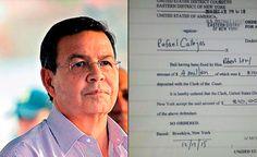 Expresidente de Honduras, Rafael Callejas tiene hasta el viernes para completar fianza
