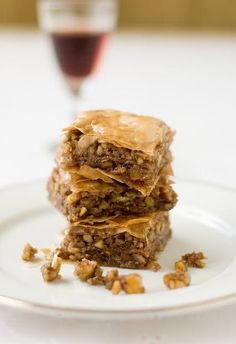 SO GOOD! Baklava, needs a few unusual items not typically found in the household, like phyllo dough and cardamom.