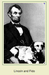 Famous people (Abraham Lincoln) + Dogs