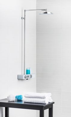 Oras Eterna - a beautiful shower with EcoLed PressPad for your new bathroom!