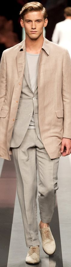 Canali Spring Luxury Casual Men's Outfit | Men's Fashion & Style | Shop Menswear, Men's Apparel, Men's Clothes, Moda Masculina at designerclothingfans.com