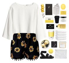 NUNCHI by cleobluesky on Polyvore featuring polyvore fashion style H&M Cheap Monday philosophy Topshop Davines Forever 21 Seletti ROOM COPENHAGEN Kate Spade CASSETTE clothing