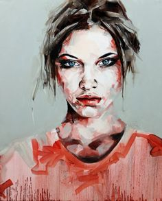They Say, Paul Bennett. Portrait. Limited edition print. £200. Will look stunning framed and hung in the living room.