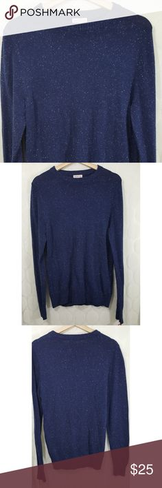 NWT Merona Cable Knit Sweater NWT Merona Cable Knit Sweater in Navy. Size XL. Smoke free home. Merona Sweaters