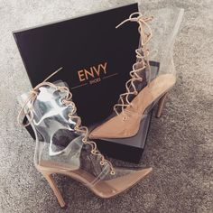 Image shared by barbie doll. Find images and videos about fashion, shoes and heels on We Heart It - the app to get lost in what you love. Transparent Boots, Shoe Room, Cinderella Shoes, Sneaker Heels, Luxury Shoes, Sock Shoes, Girls Shoes, Girls Footwear, Ladies Shoes