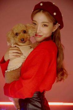 Kim Chungha, Elf On The Shelf, Teddy Bear, Holiday Decor, Animals, Inspiration, Chinese, Kpop, Artists