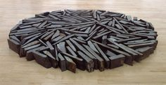 'South Bank Circle', Richard Long, 1991 | Tate. (The sculpture is made of slate from Delabole Quarry, Cornwall)