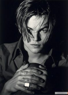 Leonardo DiCaprio in his younger days...I used to have the BIGGEST crush on Leo back in the day