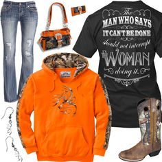 Woman Doing It Outfit - Real Country Ladies