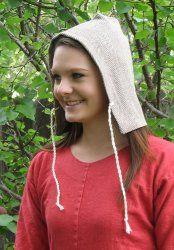 I love my Jorvik hood! $13.95 from Historic Enterprises.