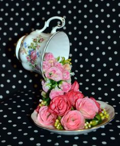 Enchanted Tea Cup Mothers Day Gift / Table by TheOpiumLounge, £19.99