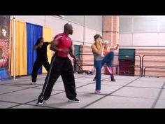 Kickboxing workout video