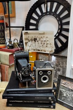 vintage cameras...just got a plentax in stock...Lost and Found Thrift, Bountiful, Utah