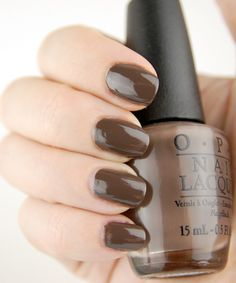 OPI How Great is Your Dane nail polish Nordic Collection How Great is Your Dane? – Dark espresso creme.
