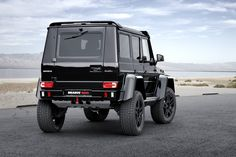#Brabus #Mercedes G 500 4x4² #cars #suv #truck #luxury #offroad #amg #benz #supercars More Brabus >> http://www.motoringexposure.com/aftermarket-tuned/brabus-mercedes-benz/