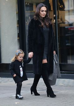 Stylish mother-daughter! Tamara Ecclestone's daughter Sophia looked every inch the little princess as she visited her mother's salon on Monday