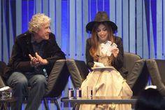 Lady Gaga wears Hedi Slimane's spring Saint Laurent collection
