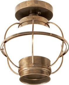 T's Room - Cabela's: Cabela's Vintage Globe Ceiling Light Globe Ceiling Light, Globe Lights, Wall Lights, Ceiling Lights, Cottage Hallway, Cabin Lighting, Vintage Globe, Foyer Decorating, Unique Lighting