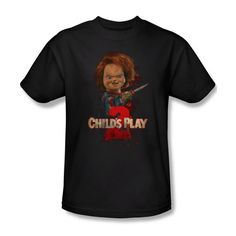 67b3c749 Chucky Childs Play 2 Movie Poster Picture Photo Ladies Jr Women Men T-shirt  Top