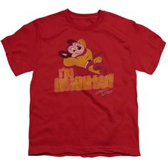 """Checkout our #LicensedGear products FREE SHIPPING + 10% OFF Coupon Code """"Official"""" Mighty Mouse / I'm Mighty - Short Sleeve Youth 18 / 1 - Mighty Mouse / I'm Mighty - Short Sleeve Youth 18 / 1 - Price: $29.99. Buy now at https://officiallylicensedgear.com/mighty-mouse-i-m-mighty-short-sleeve-youth-18-1"""