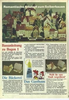 Bastelbogen: Romantische Altstadt – Kaukapedia