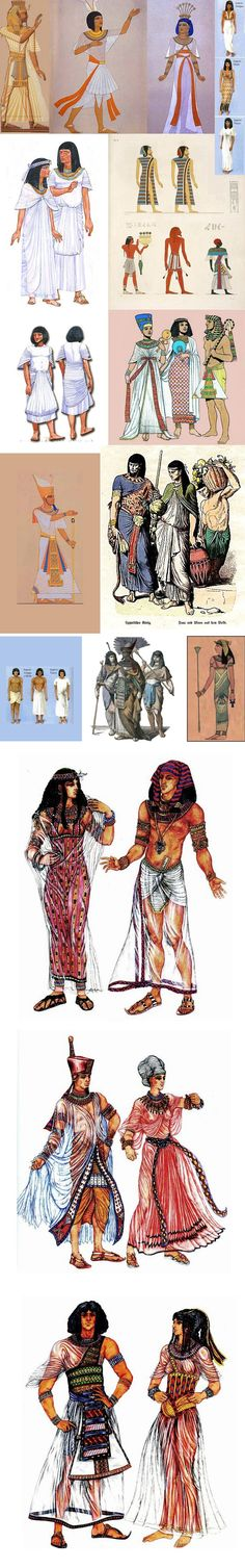 Fashion stylings of Ancient Egypt Ancient Egyptian Art, Ancient History, Art History, Ancient Aliens, Old Egypt, Egypt Art, Egyptian Fashion, Egyptian Costume, Templer