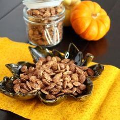 Cinnamon Sugar Pumpkin Seeds by FoodieMisadventures