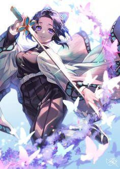 We have plenty of HD Wallpaper of Shinobu Kocho among the complete characters of anime series Demon Slayer - Kimetsu no Yaiba Anime Art, Anime Demon, Character Art, Slayer Anime, Demon, Anime Fan, Art, Anime Drawings, Manga