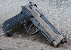 X-Werks Beretta 92A1 9mm Magpul FDE OD No CC Fe 92 Guns > Pistols > Beretta Pistols > Model 92 Series