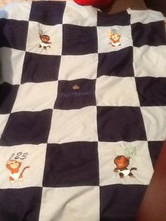 A crib quilt for my 1st grand