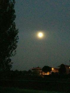 Luna al mattino