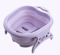 Overview: Thick and durable, folding design does not take up space, convenient storage and hanging, 4 massage balls on the bottom, can be used as a foot washing bucket, foot bath basin, travel folding basin Specification: Product material: pp Product packaging: opp bag Product size: After folding: 50*41*6.5cm Expand: 50*41*20cm Product color : green Capacity limit: about 15 liters Package Content: 1 x Footbath Foot Wash, Bath Detox, Spa Massage, Basin, Tub, Barrel, Household, Bucket, Product Packaging