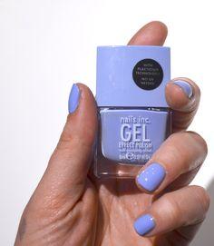 Nails Inc, Regent Park, Light Blue, Blue, Gel Nail polish