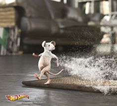 Hot Wheels - Mouses by Ogilvy & Mather Budapest Funny Advertising, Funny Ads, Creative Advertising, Print Advertising, Print Ads, Advertising Campaign, Ads Creative, Creative Ideas, Zuko