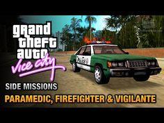 cool GTA Vice City - Paramedic, Firefighter and Vigilante
