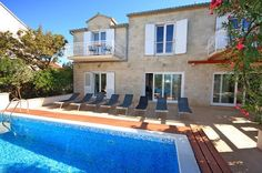 7 bedroom Villa with Pool in Mirca on Brac, sleeps 14-17 The price for 1 week = £7,679 + tourist tax + £25 booking fee.