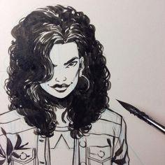 America Chavez by Ramon Perez